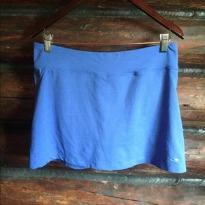 Champion Skirt with Shorts Blue Size M